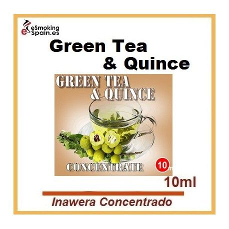 Inawera Concentrado Green Tea & Quince