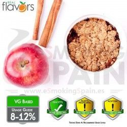 Aroma Real Flavors Apple Crumble