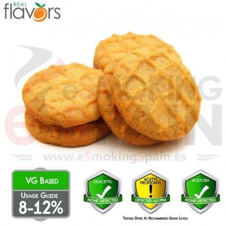 Aroma Real Flavors Peanut Butter Cookie