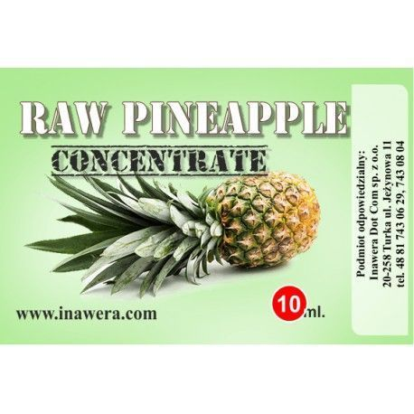Inawera Concentrado Raw Pineapple