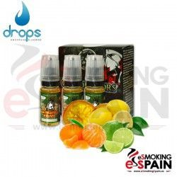 Genghis Khan Drops conquerors 3X10ml E-Liquid