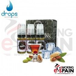 Cool Winter Drops Four Seasons  3X10ml E-Liquid