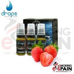 Ultimate Strawberry Drops 3X10ml E-Liquid