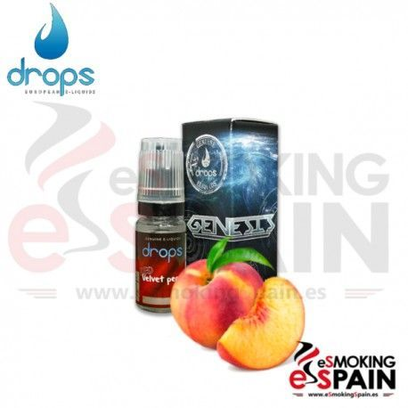 Red Velvet Peach Drops 10ml E-Liquid