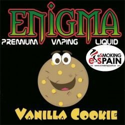 Vanilla Cookie Enigma Eliquid 50ml E-Liquid