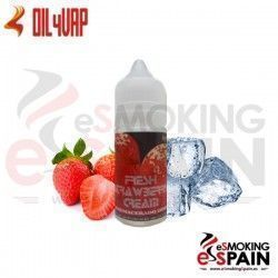 Fresh Strawberry Cream Oil4Vap 20ml E-Liquid