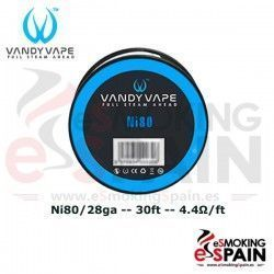 Ni80 28ga 30ft Vandy Vape