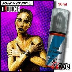 Gold N Brown T-Juice 30ml Aroma
