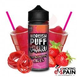 Strawberry Laces Moreish Puff Sherbet 100ml E-liquid
