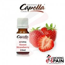 Sweet Strawberry Capella 10ml Aroma