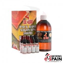 Base Oil4Vap 500ml + NikoVap (3mg/ml)