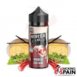 As Flawless Rhubarb Custard Custard Moreish Puff 100ml